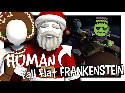 HUMAN FALL FLAT : LE MONSTRE DE FRANKENSTEIN !