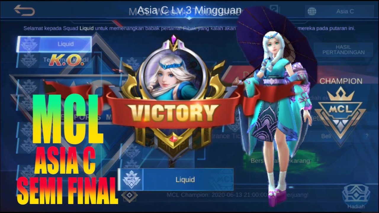 [MCL] SEMI FINAL KAGURA MIRACLE Mobile Legends
