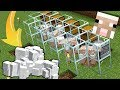 How to Build a 1.14.3 Automatic Wool Farm in Minecraft