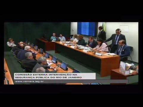 INTERVENÇÃO NA SEGURANÇA PÚBLICA DO RIO DE JANEIRO - Audiência Pública - 13/03/2018 - 18:32