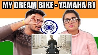 Indian Reaction On My dream bike - YAMAHA R1 | Irfan Junejo Vlog | Krishna Views