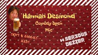 Hannah Desmond Stand-up at Skits amp Giggles, May 2019