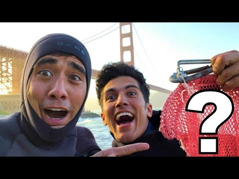 Diving for Treasure at the Golden Gate Bridge