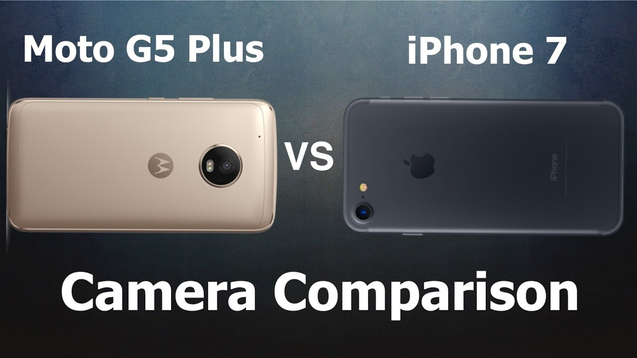 iphone vs moto g5 plus