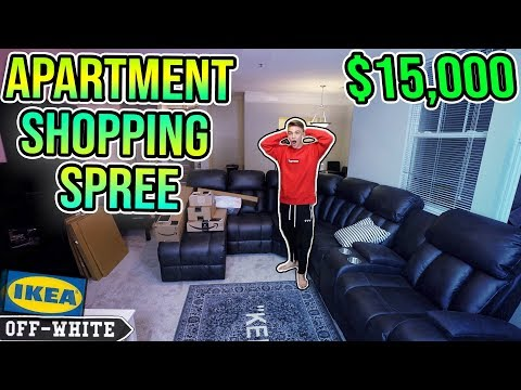 $15,000 APARTMENT SHOPPING SPREE!