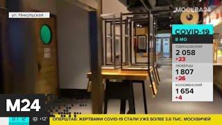 Рестораны в Москве откроются в привычном режиме со вторника - Москва 24