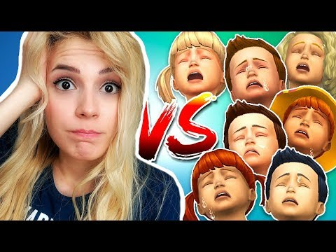 7 ÇOCUK VS. CHALLENGE (The Sims 4)