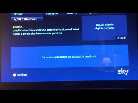 NEW Guida passo passo per sintonizzare ZDF su decoder SKY per Partite in Chiaro Champions League