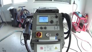 видео Сварочный аппарат для кузовного ремонта автомобиля