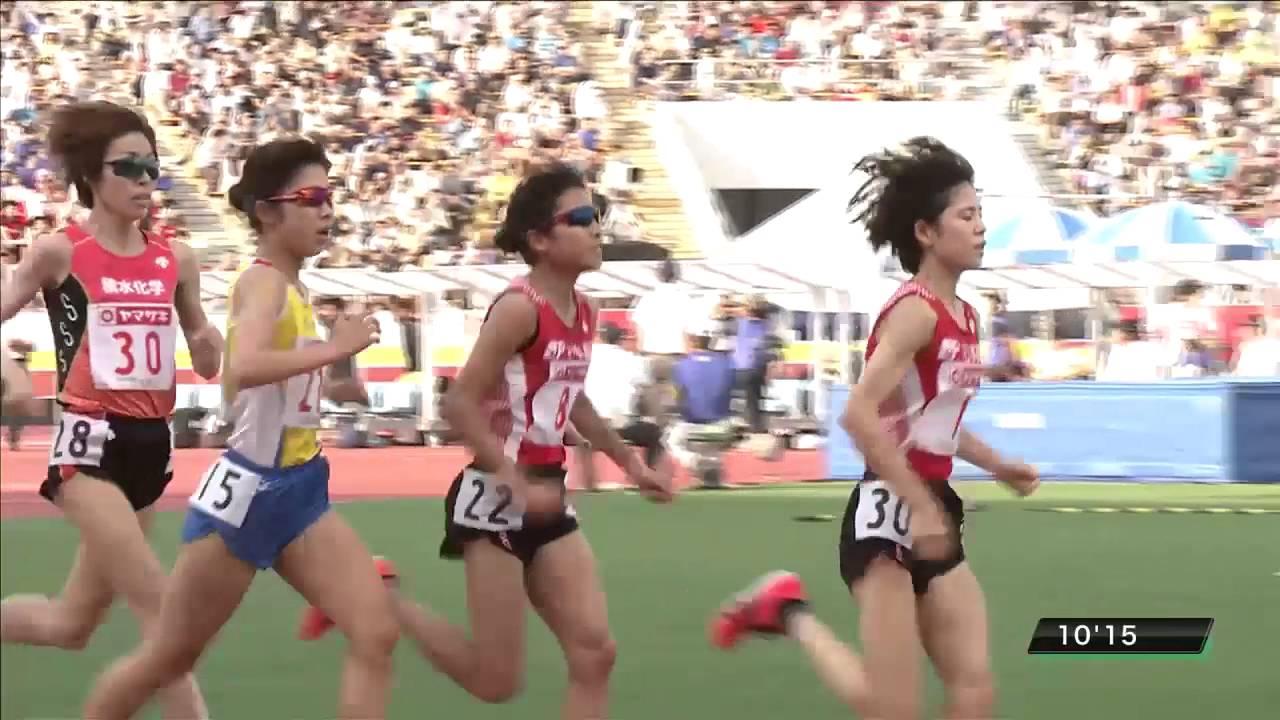 女子5000m 決勝 第100回日本陸上...