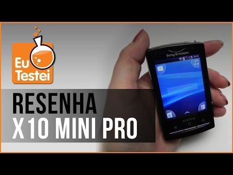 Xperia X10 mini pro Sony Ericsson Smartphone - Vídeo Resenha EuTestei Brasil