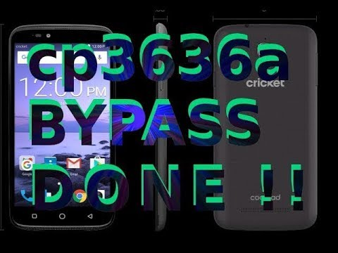 [That Bypass Wizard]: Coolpad Canvas cp3636a FRP Bypass