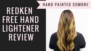 REDKEN FREE HAND LIGHTENER REVIEW (SOMBRE TUTORIAL)