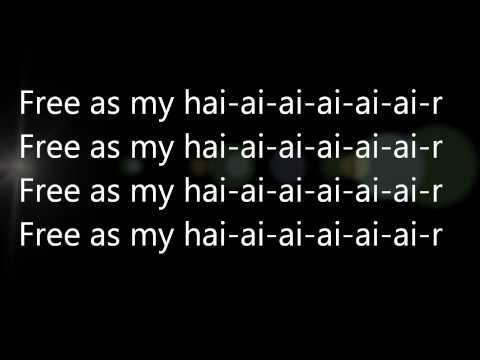 Lady Gaga - Hair (lyrics!) HQ