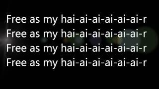 Lady Gaga - Hair (lyrics!) HQ