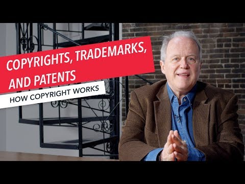 How Copyright Works: What Is The Difference Between Copyrights, Trademarks, And Patents?