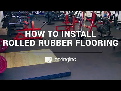Rolled Rubber Flooring by Flooring Inc