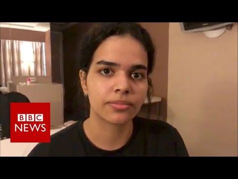 #SaveRahaf: Saudi teen's successful online campaign - BBC News