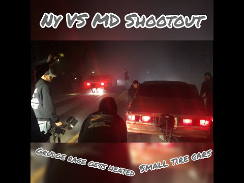 NY VS MD Small Tire Shootout. Grudge Race Gets Heated After Racer Refuses To Pay?!