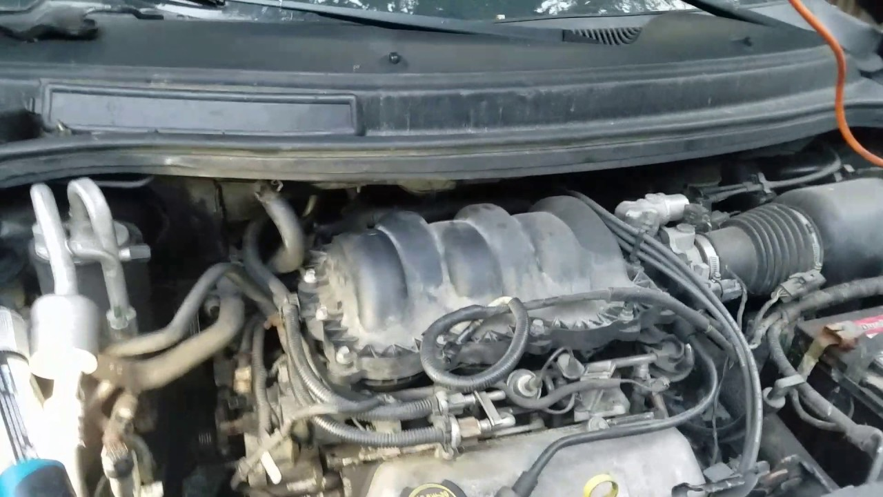 Easier Removal Of Water Pump On 2002 Ford Windstar 3 8 V6 Youtube