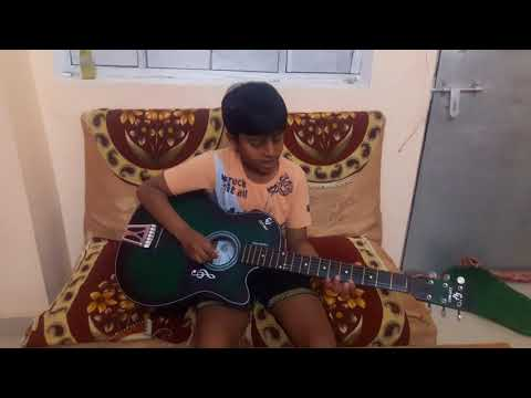 Happy birthday song on guitar by rudra mishra
