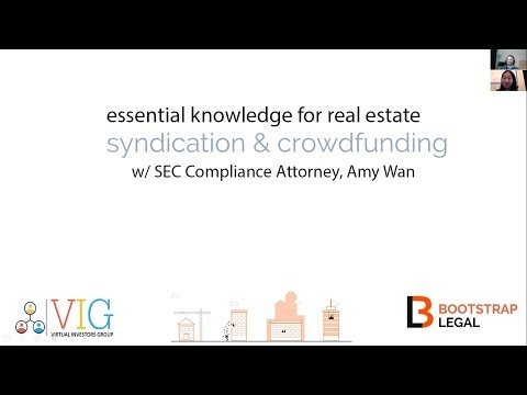 Introduction to Real Estate Syndication w/SEC Attorney, Amy Wan [How-To + Q&A Bonus]