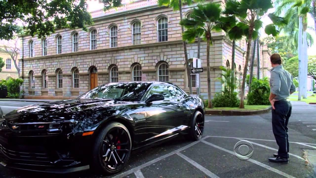 Dano S New Black Chevrolet Camaro Hawaii Five 0
