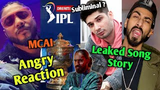 Gambar cover Raftaar's Angry reaction on song Plagiarism | Emiway's new song SUBLIMINAL to Kr$na ?