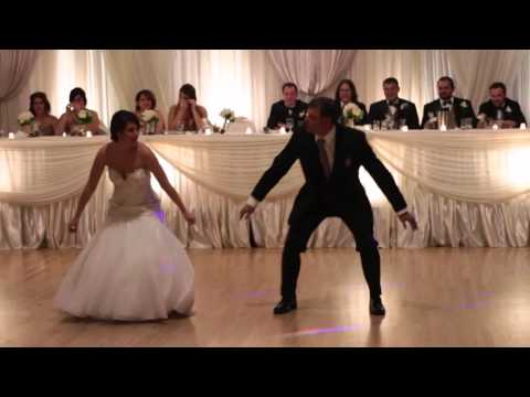 Father and Daughter Surprise Wedding Dance