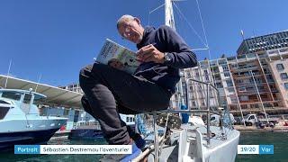Download lagu Voile : le navigateur Sébastien Destremau retrouve son port à Toulon