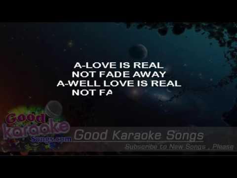 Not Fade Away  - The Rolling Stones (Lyrics Karaoke) [ goodkaraokesongs.com ]