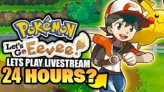 Pokemon Let's GO Pikachu & Eevee LET'S COMPLETE THEM IN 24 HOURS OR LESS!? (Let's Play/Walkthrough)