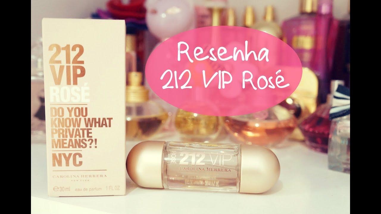 0ab43b0db6482 Resenha Perfume 212 Vip Rosé Carolina Herrera - YouTube