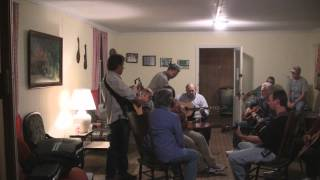 Thinking Tonight of My Blue Eyes & Are You Missing Me - jamming @ Everett's Barn, 11-3-12