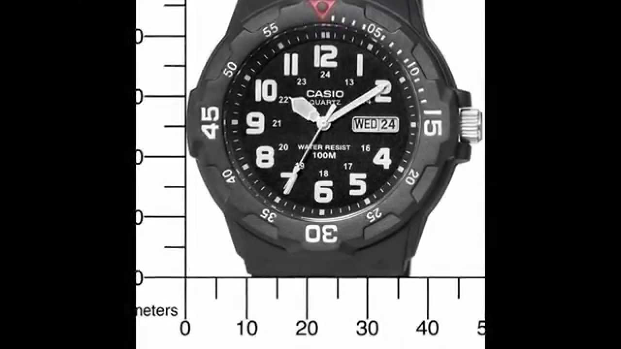 Image result for Casio Men's Sport Analog Dive Watch