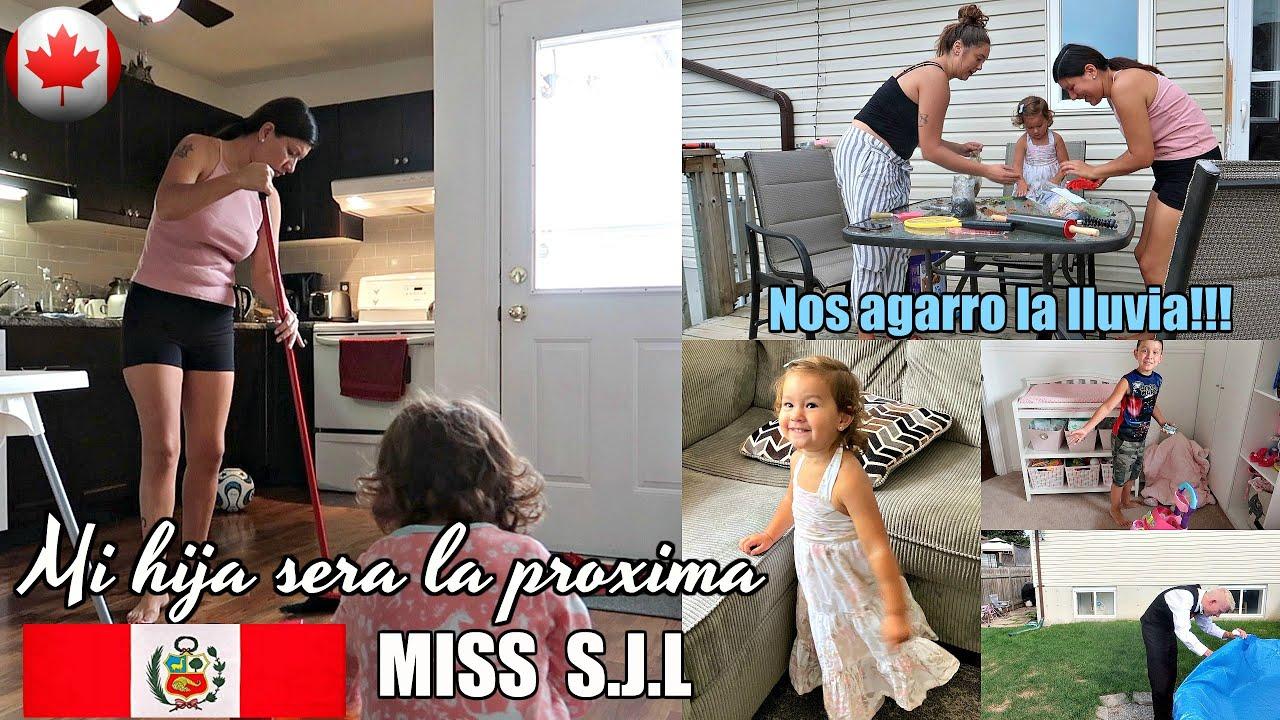 🇨🇦 😌Las mamás  no tenemos descanso + Agárrate  Perú que nació una nueva MISS 🇵🇪