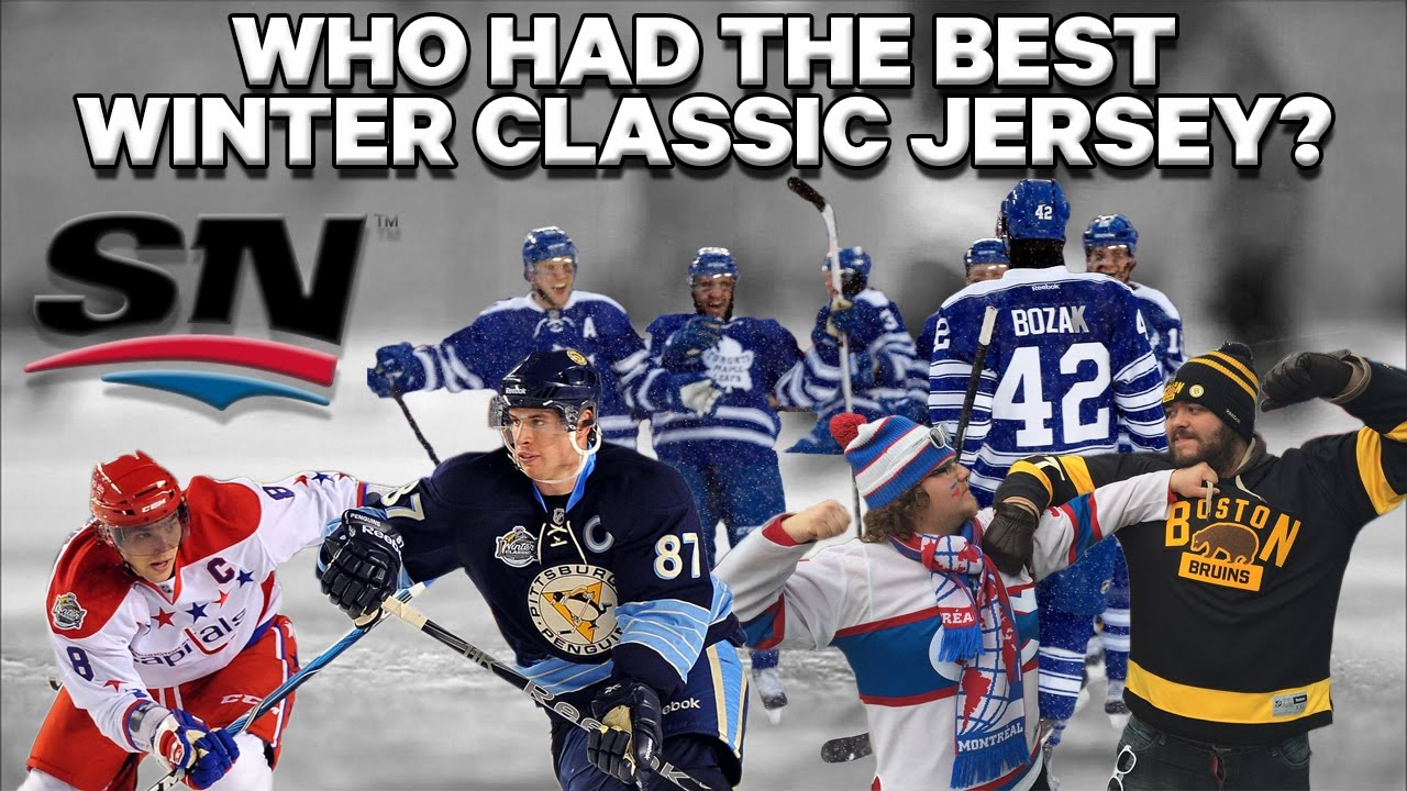 Which team had the best Winter Classic Jersey  - YouTube 15e63390c
