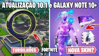 FORTNITE-NEW GALAXY SKIN, SNOW MELTING and TURBIB BACK?