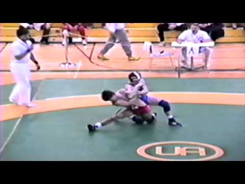 1989 Senior National Championships: Kevin Kezama vs. Walter McLean