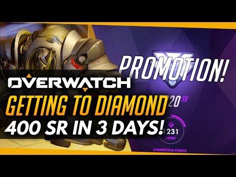 Overwatch | How I Climbed to Diamond - 400 SR In 3 Days