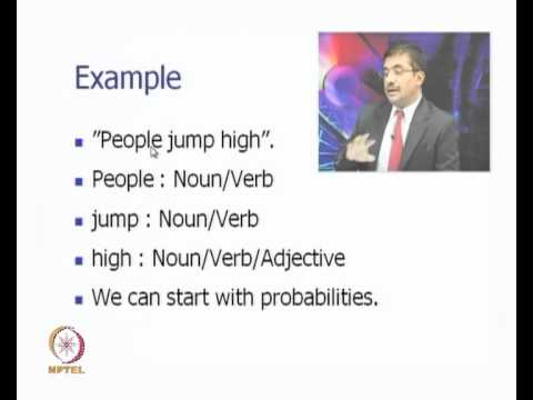 Mod-01 Lec-10 Part of Speech Tagging