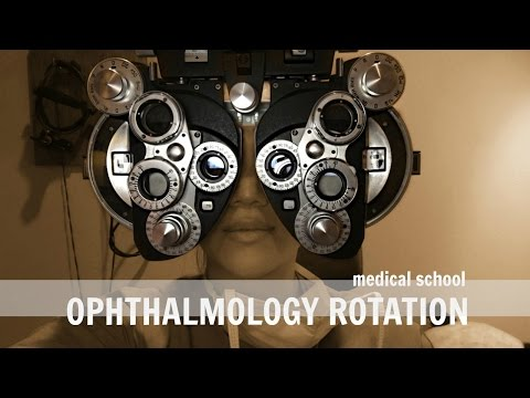 Medical School | Ophthalmology Rotation
