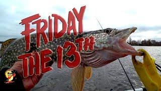 Рыбалка на озере Клюет ли Рыба в Пятницу 13
