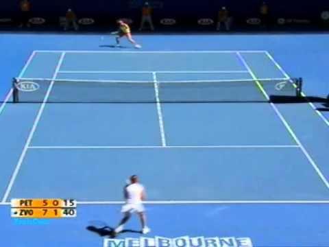 Vera Zvonareva vs Nadia Petrova 2009 AO Highlights