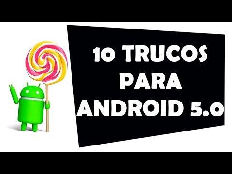 10 trucos de Android 5.0 Lollipop