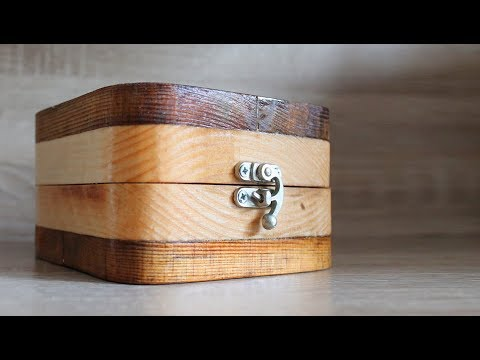 DIY Wooden Box with Lock - Jewelry Box Making