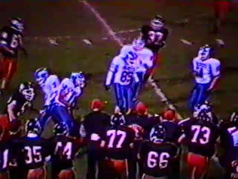 Taunton High School Football vs Quincy - 1998