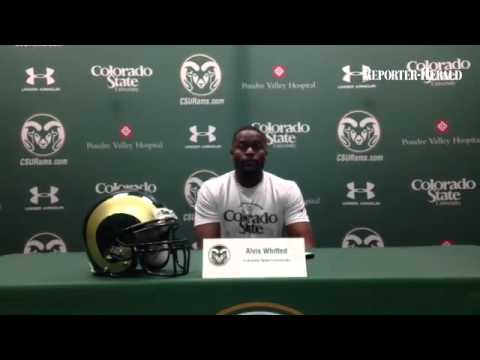 CSU WR coach Alvis Whitted on his relationship with Fred Biletnikoff
