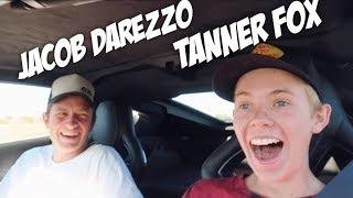 TANNER FOX & JACOB DAREZZO LAUNCH MY SUPERCHARGED CORVETTE Z06 FUNNY REACTION
