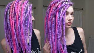 Hair Transformation - Purple Rain